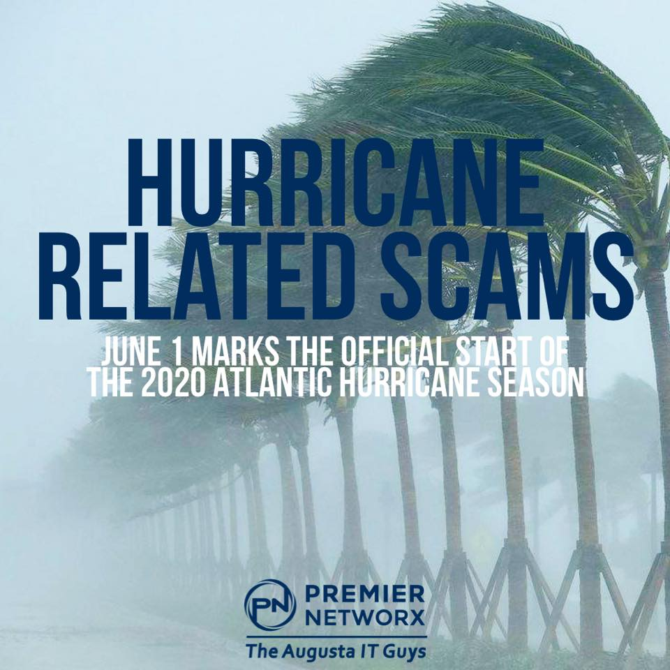 Premier Networx Hurricane Related Scams