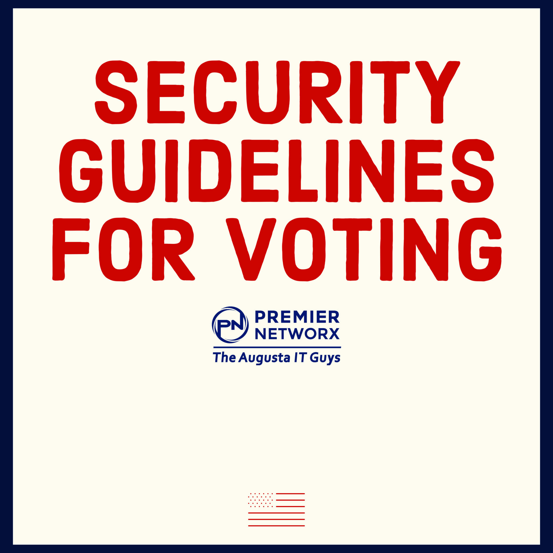 Premier Networx Voting Election Cybersecurity