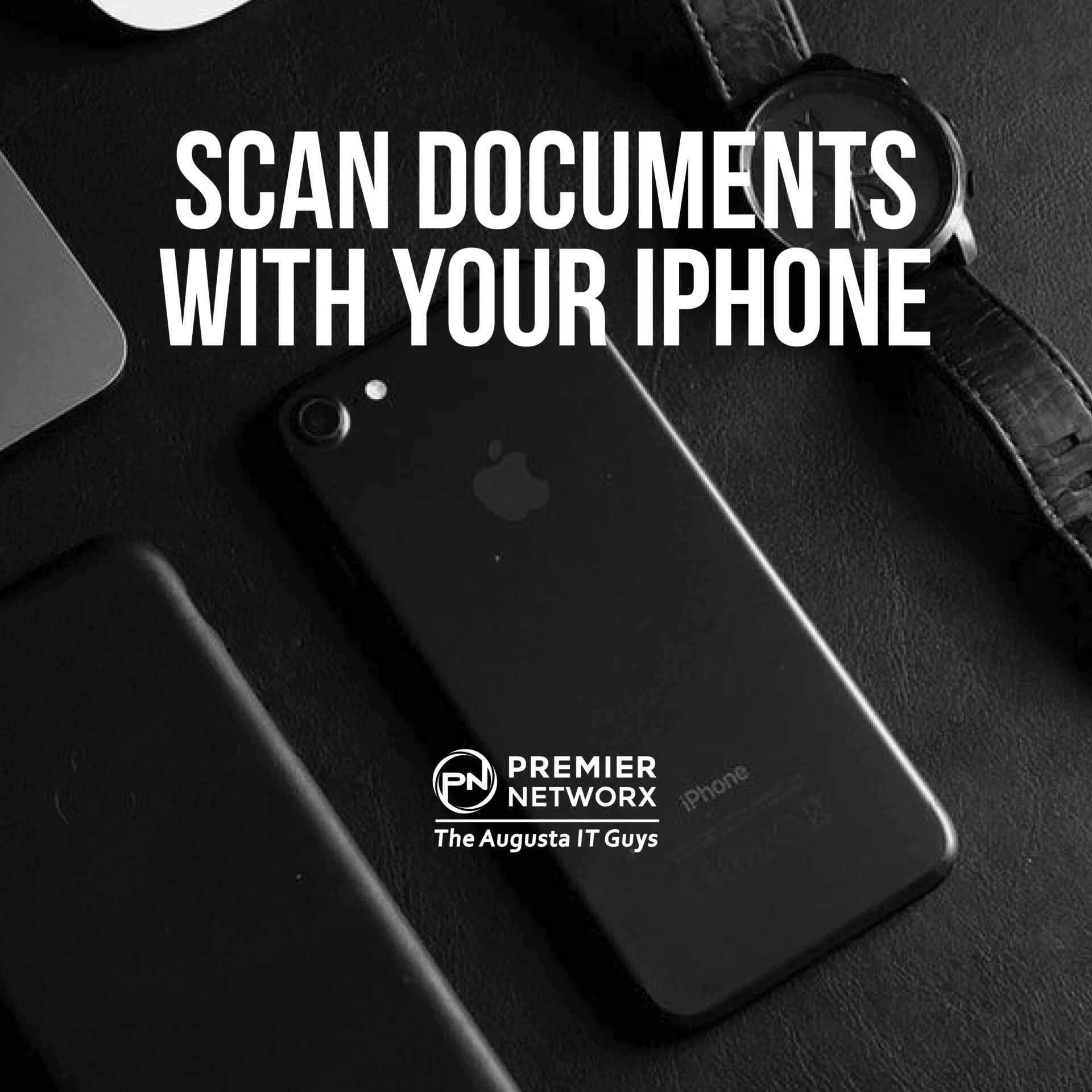 Premier Networx Scan Documents with iPhone
