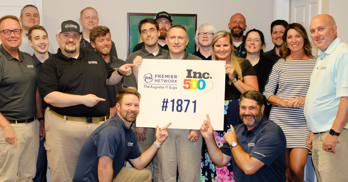The Augusta IT Guys Ranks on Inc 5000 List