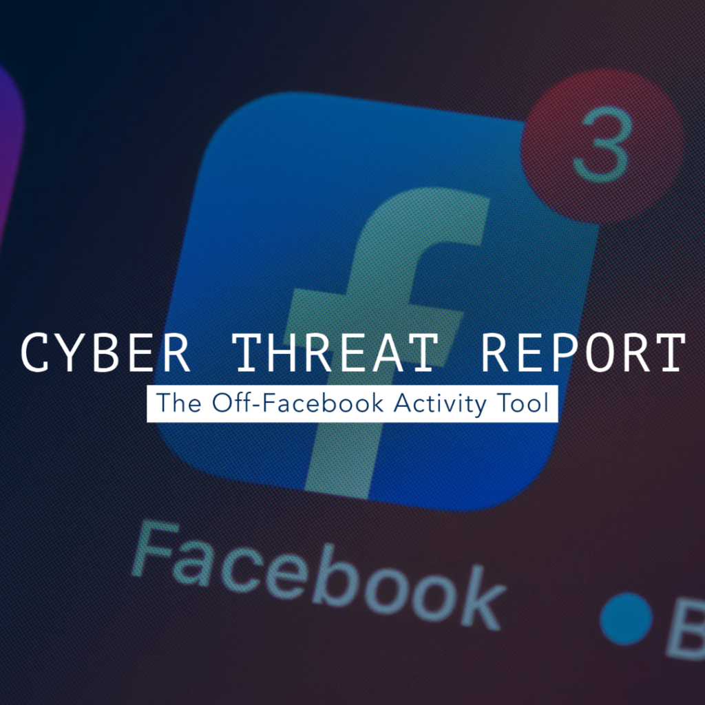 Cyber Threat Report Facebook