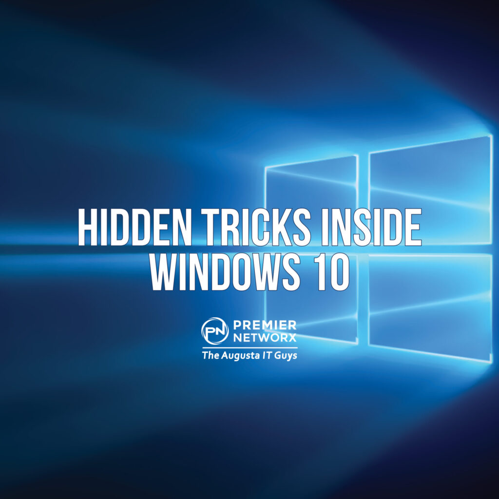 Windows 10 Hidden Tricks Premier Networx